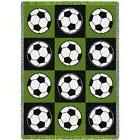 Pure Country Soccer Balls Tapestry Throw Blanket Afghan 48""