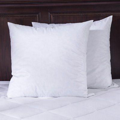 Puredown Down Feather Pillows, Inserts 100% Cotton Shell,Pac