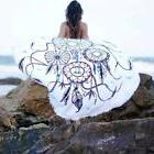 Round Bohemian Dream Catcher Beach Hippie Throw Towel Blanke