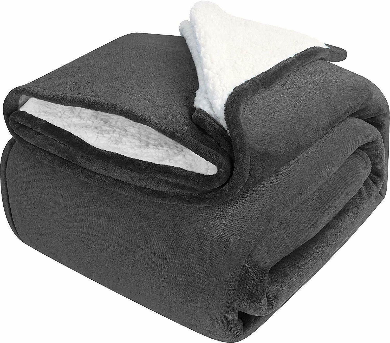 Sherpa Blanket Extra Brush Fabric Utopia