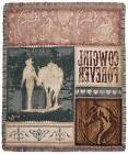 Simply Home Country Western Cowgirl Forever Decorative Woven