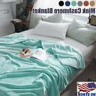 Soft Warm Micro Plush Fleece Blanket Throw Rug Sofa Bedding