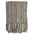 """Streamers 50-Inch x 60-Inch Throw Blanket in Stripewith 6"""""""