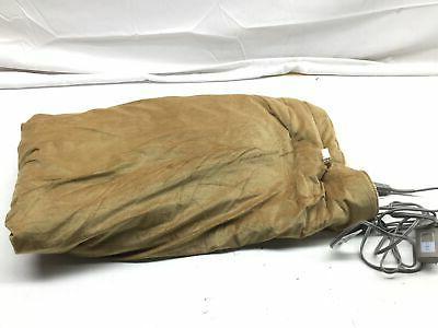 Sunbeam Heated Throw Blanket   Reversible Sherpa/Royal Mink,