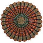 Tapestry Mandala Beach Hippie Round Throw Indian Mat Towel B