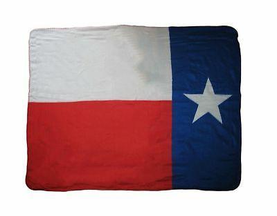 """Texas Baby Size Polar Fleece 30""""x40"""" Texas Flag Fleece Throw"""