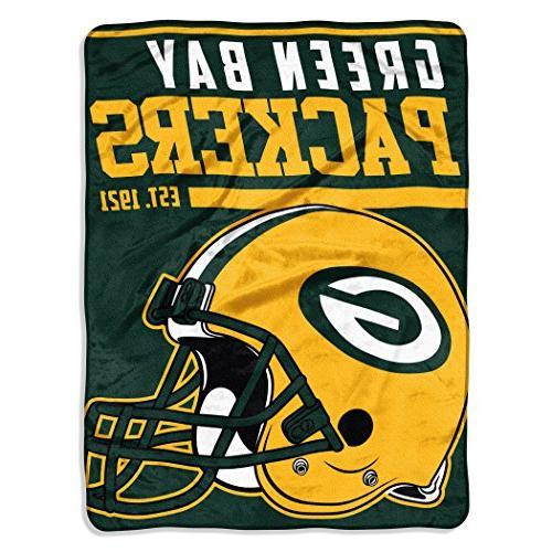 The Northwest NFL Green Bay Packers Micro Raschel Throw Blan