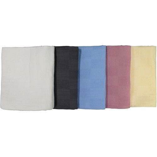 Thermal Bed Throw 100% 66x90 Solid Colors