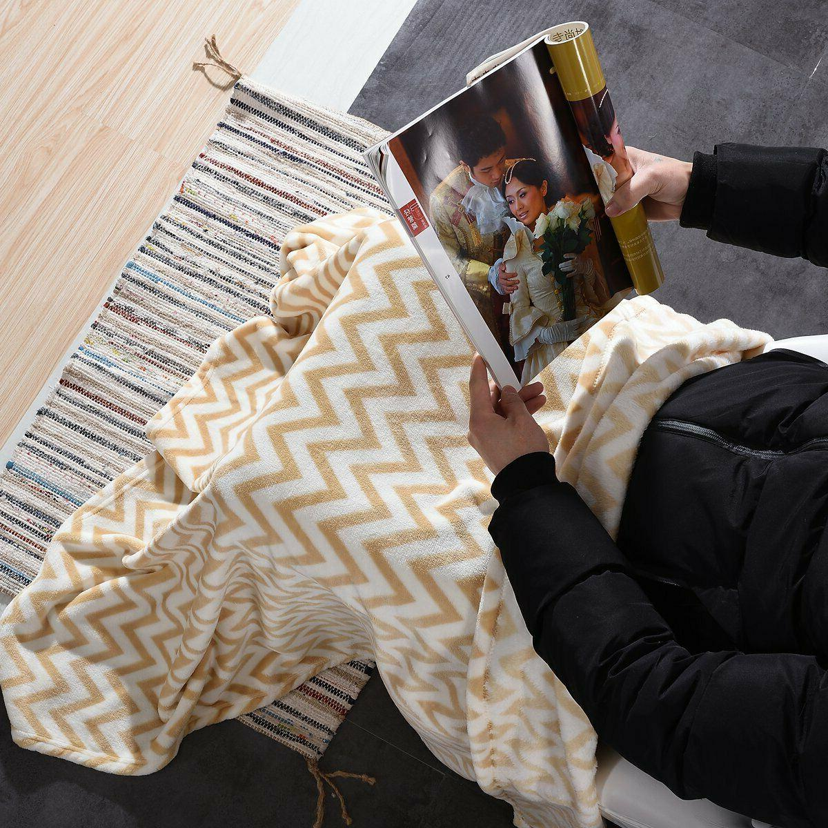 Throw Blanket Fleece For Couch Bed 50 60