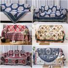 US Throw Blanket Cotton Thicken Rug Sofa Bed Sleep Home Deco