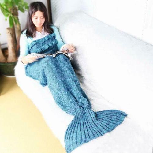 Adults Mermaid Tail Blanket Mermaid Sleeping Bags for Teenag