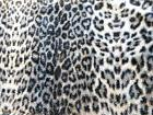 "animal leopard faux soft fur throw Blanket 50"" X 60"" New Sea"