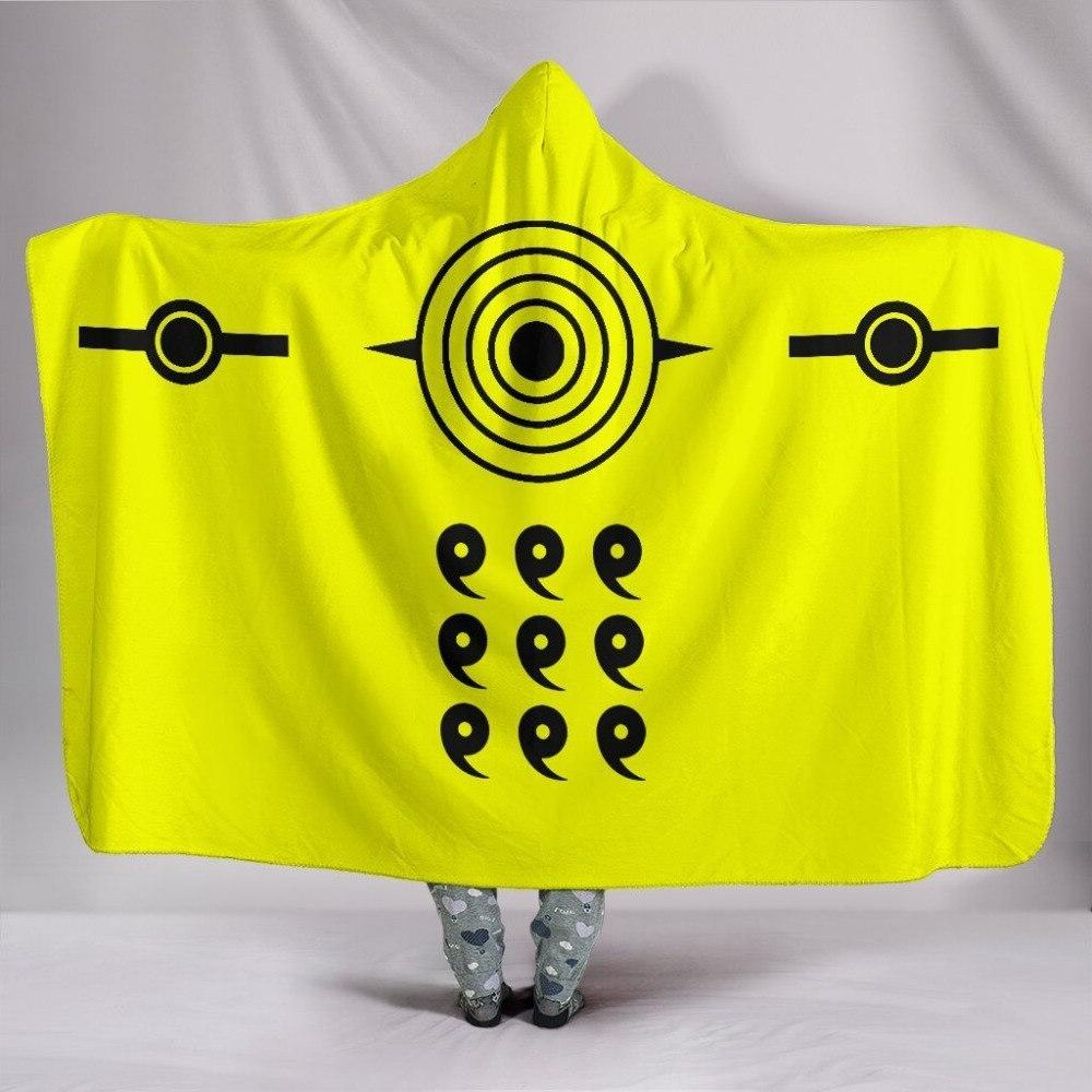 Anime Hokage 3d Plush <font><b>Blanket</b></font> Warm layer Fleece