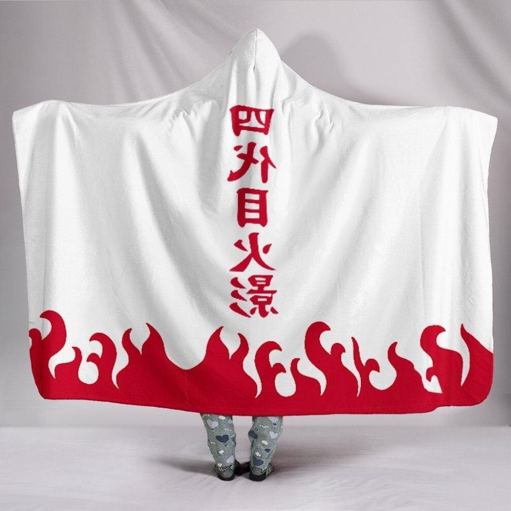 Anime Cloak 3d Printed <font><b>Blanket</b></font> Warm Home Wearable layer
