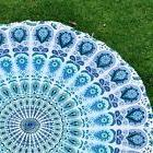 Beach And Picnic Towel Blanket Indian Round Mandala Tapestry