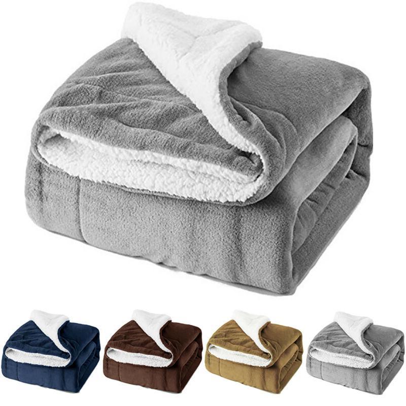 Bedsure Flannel Fleece Blanket Plush Bed Blanket