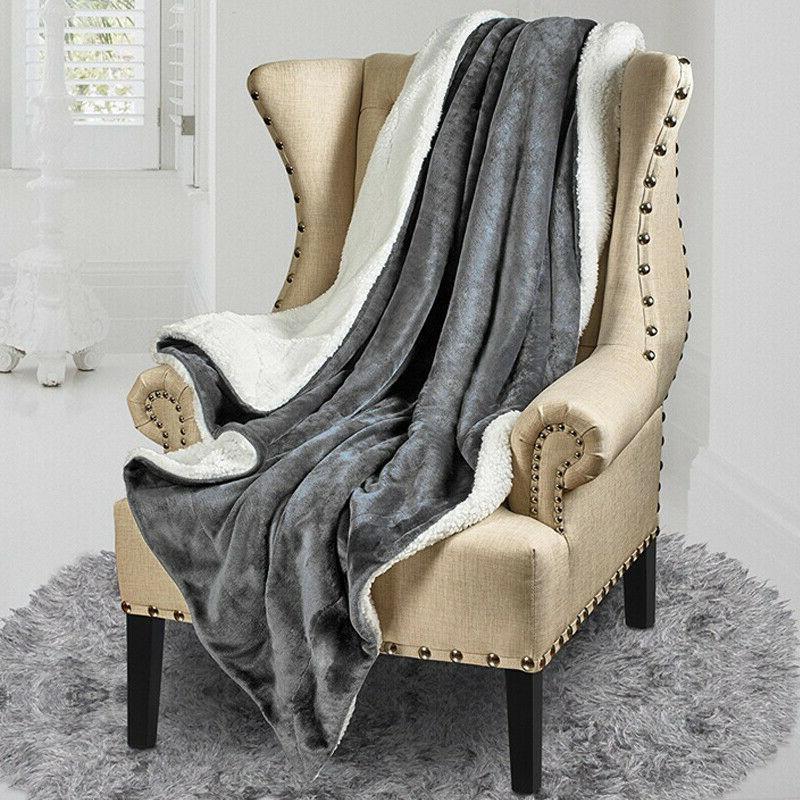 Bedsure Flannel Fleece Blanket Bed Blanket
