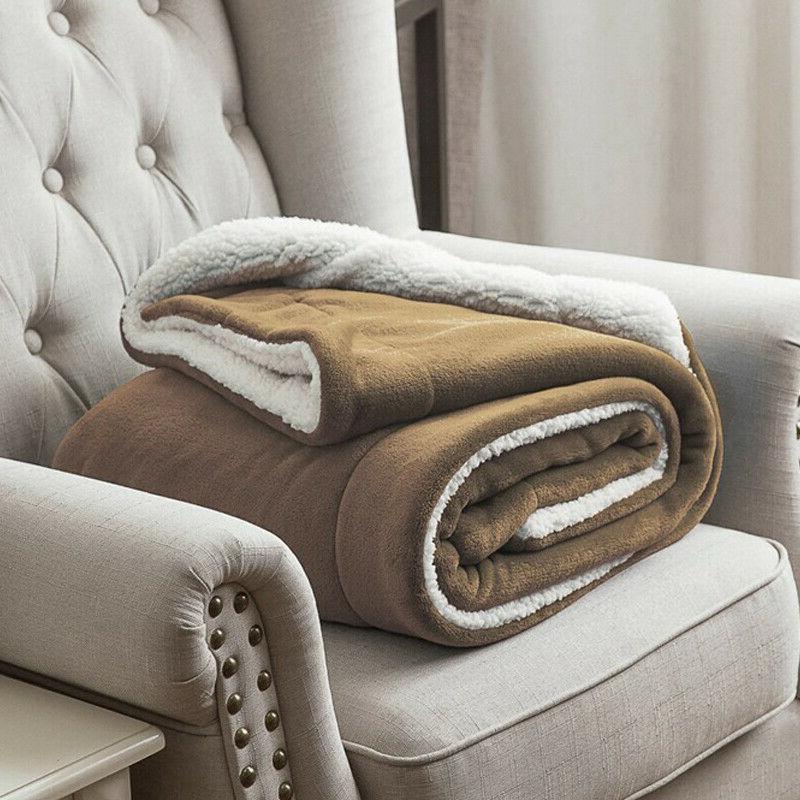 Bedsure Luxury Flannel Fleece Blanket Plush Bed Microfiber