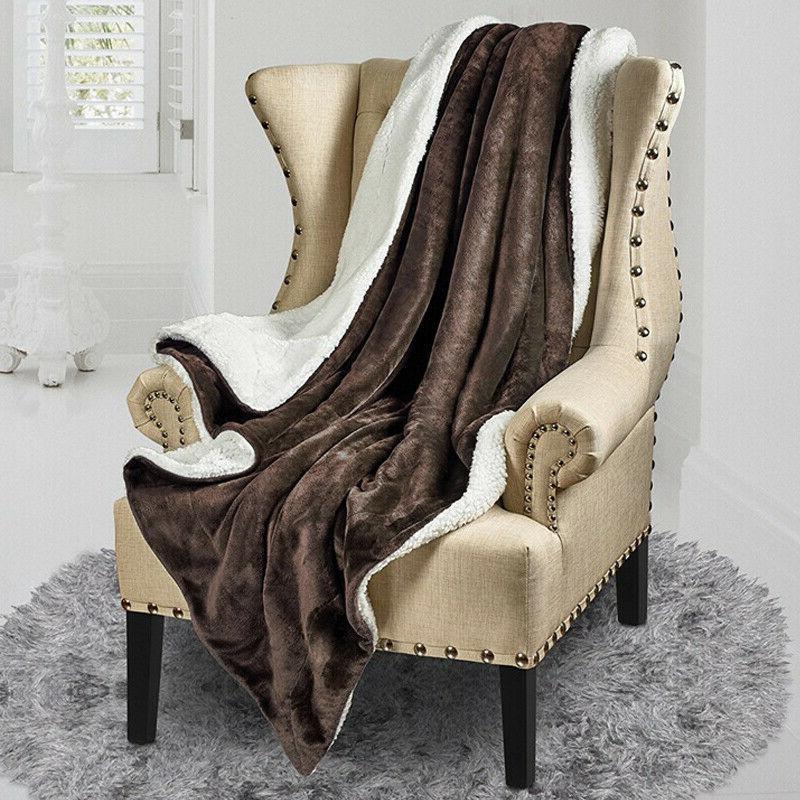 Bedsure Flannel Fleece Blanket Plush Bed Microfiber