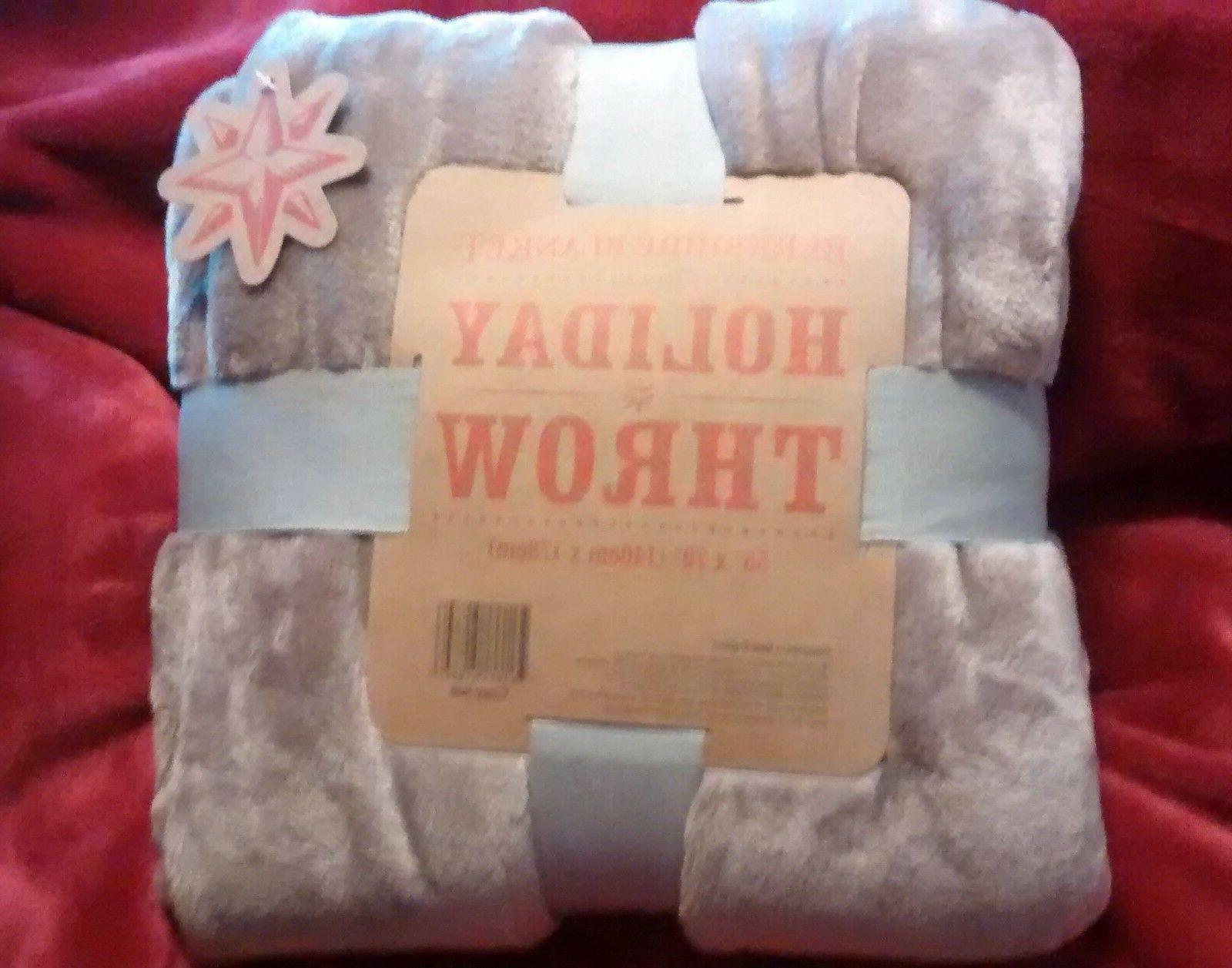 blanket throw 55 x 70 velvet super