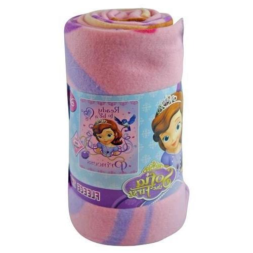 blanket throw fleece jr sofia