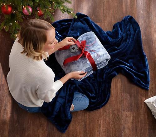 Berkshire Blanket Soft Set of Oversized Throws