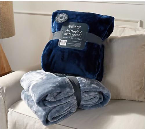 Berkshire Blanket Velvet Set 2 Oversized
