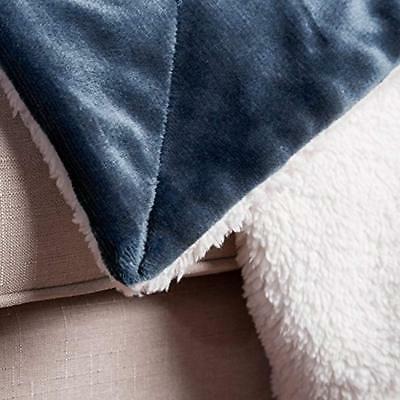 Blankets Blue Plush Soft Microfiber
