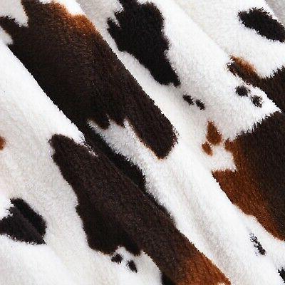 homesmart Print Warm Throw Blanket