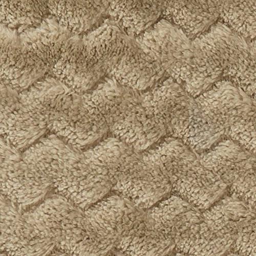 PAVILIA Chevron Throw Blanket Couch, Super Plush, Fuzzy Microfiber Throw Textured Blanket for