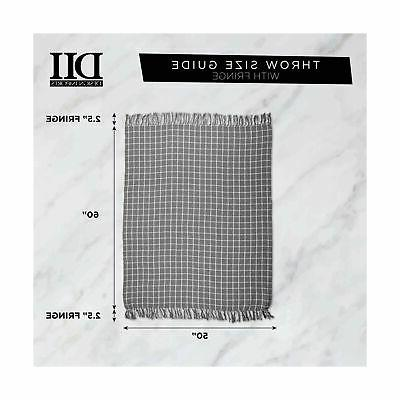 DII Classic Colby Throw with Fringe...