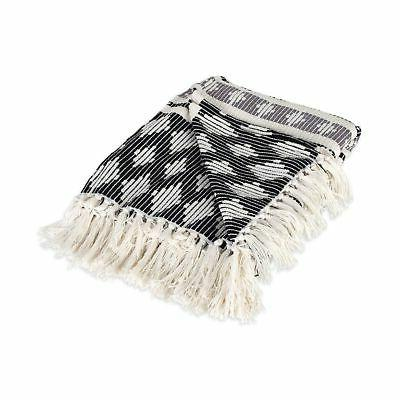 DII Cotton Stripe Throw with