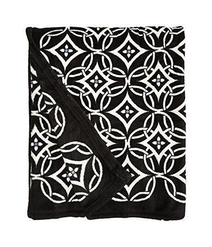 Vera Bradley CONCERTO Throw Fleece Blanket NEW NWT