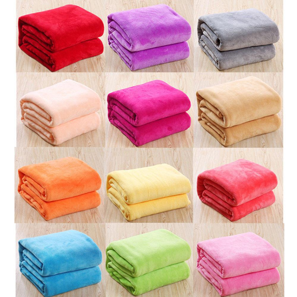 Coral Blankets Bed Sofa Blankets Throws
