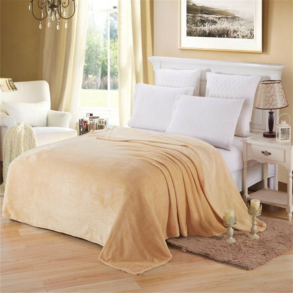 Coral Blankets Blanket Throw Soft Bed Sofa
