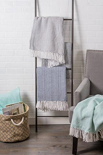 DII Herringbone Throw