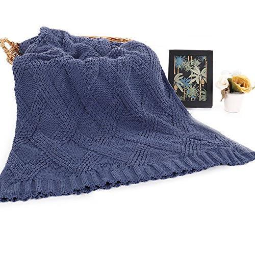 Battilo Diamond Chenille for Couch Sofa,Soft Cozy Home Decorative for All 60 Inch