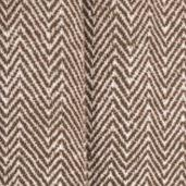DII Chevron Blanket with Fringe Chair, Picnic, Use, 50 x - Brown