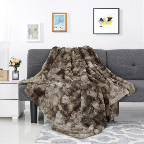 """60"""" X Flannel Blanket Couch Quilt"""