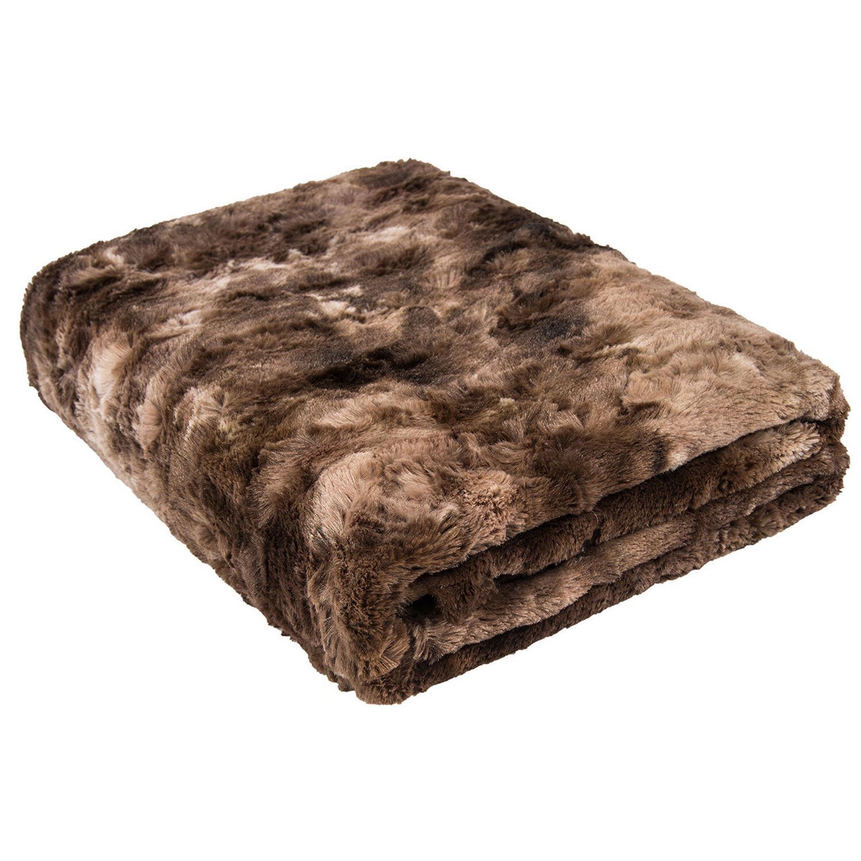 Softan Faux Blanket Soft Cozy Fluffy Throw