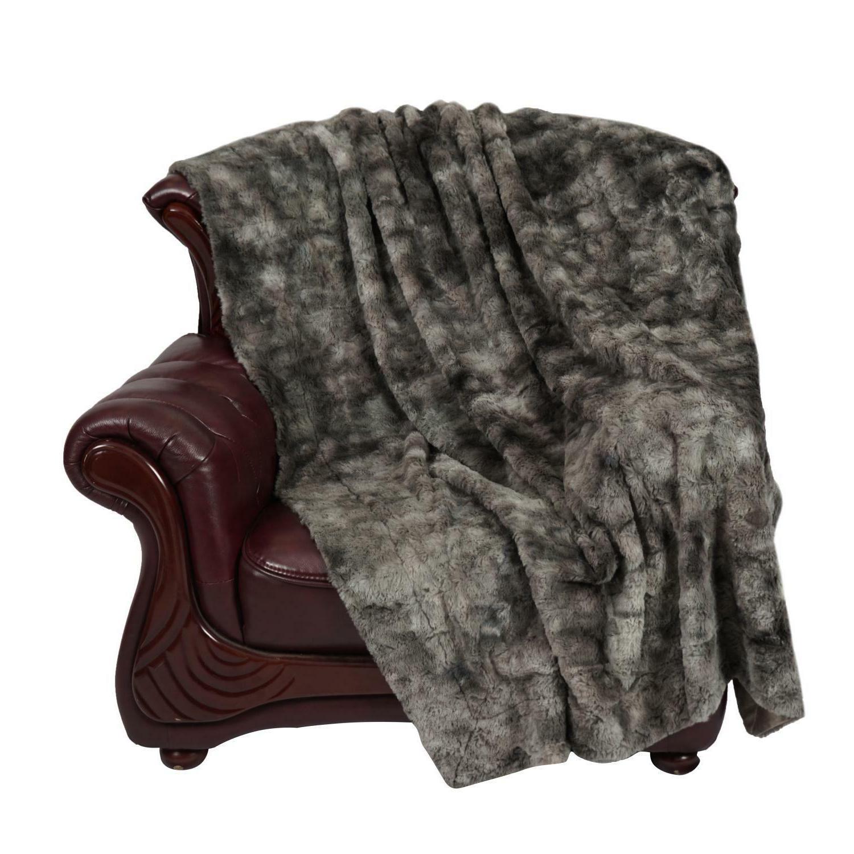 Softan Fluffy Minky Throw Blanket