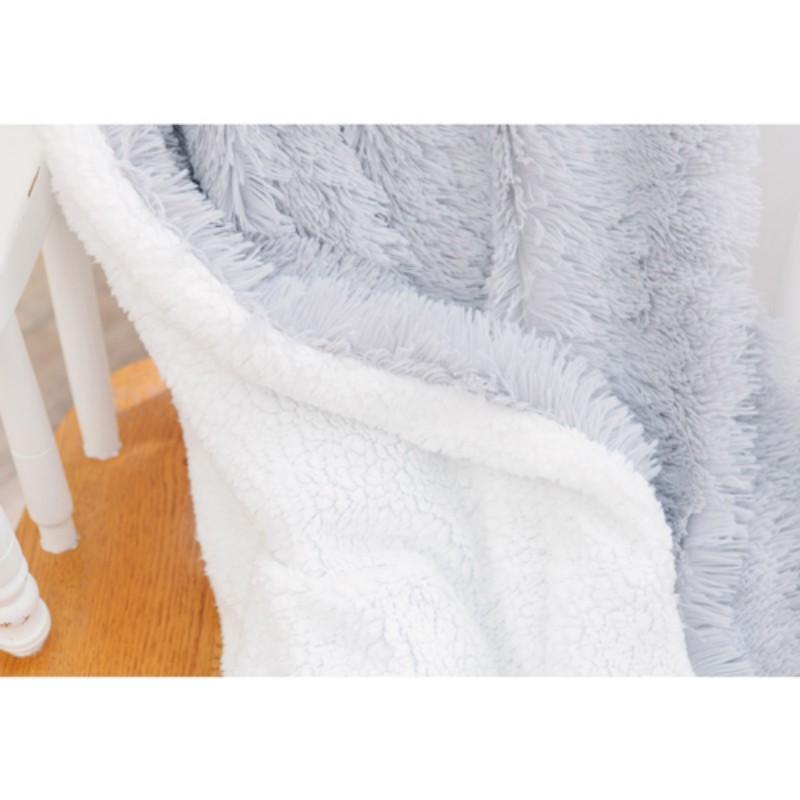 Faux <font><b>Reversible</b></font> <font><b>Blanket</b></font> Warm Kids Adults Twin
