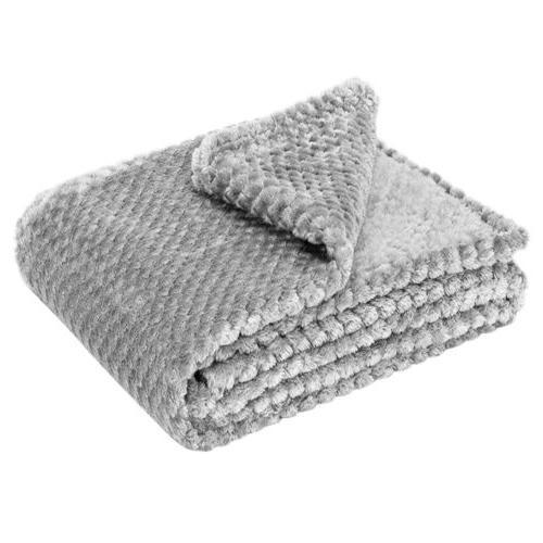 Faux Throw Sherpa Soft Plush Blanket