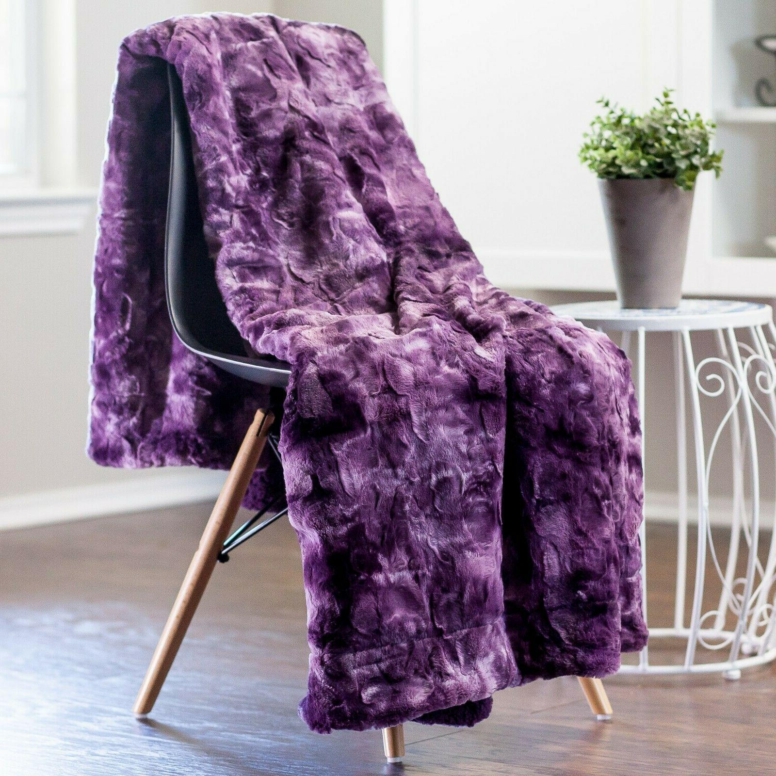 Blanket Fluffy for Couch Sofa