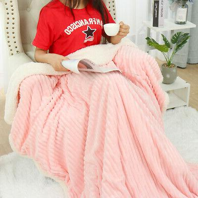 Flannel Bed Blanket for