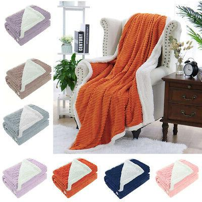 flannel blanket throw fuzzy bed throws fleece
