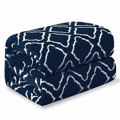 Flannel Fleece Blanket Printed Plaid - Blanket King