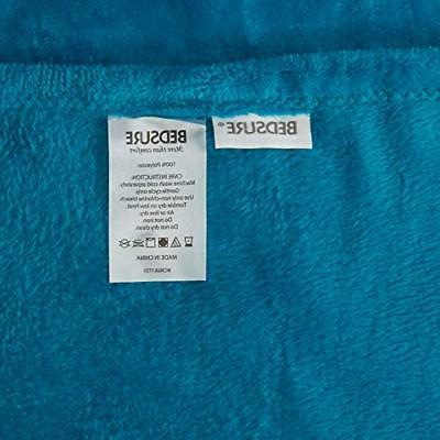 Bedsure Flannel Fleece Throw Plush Microfiber