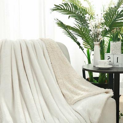Flannel Fleece Throw Blanket Extra Soft Fabric Sofa