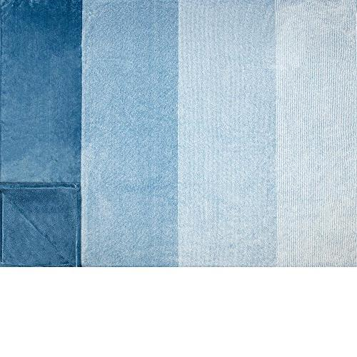 PAVILIA Throw Blanket | Lightweight Soft Throw for Bed | Use | 60 Blue